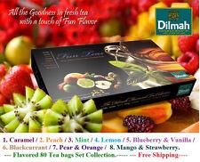 Dilmah Fun Tea Celebrations Flavored 80 Tea bags Set Collection Ceylon tea