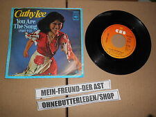 """7"""" Pop Cathy Lee - You Are The Song (Part 1/2) CBS RECORDS Bernt Möhrle"""