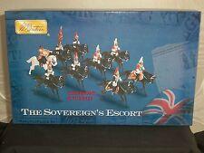 Britains 00255 sovrani ESCORT BLUES ROYALS LIFEGUARDS Toy Soldier Figure Set