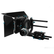 FOTGA A/B Stop QR dampen Follow Focus + DP3000 Matte Box 15mm Rod Rail Baseplate
