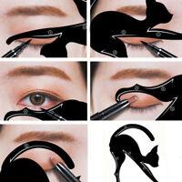 z. B. _ Schablone Former Make-up Werkzeuge 1 Paar Eyeliner Modelle Cat Eye Line