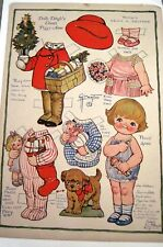 """1927 """"Dolly Dingle"""" Paper Doll by G.G. Drayton - Cousin Peggy Anne *"""