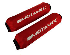 """Motamec Spring Cover Coilover Protector Shock Bag RED 19"""" / 485mm Long - Pair"""