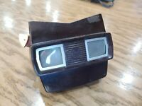 Brown Vintage View Master manufactured by Sawyer's Inc , Portland, Oregon 1950's