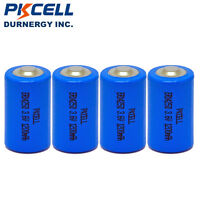 4x 1/2AA Lithium 3.6V ER14250 LS14250 1200mAh Li-SOCL2 Battery for water meter