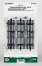 Bachmann 29906 On30 Black Freight Car Underframe (Pack of 3)