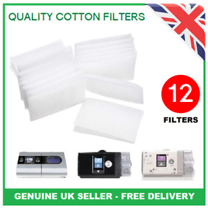 12 x High Quality Filters For ResMed AirSense 10 S9 S10 - Genuine UK Seller
