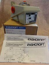NEW ASHCROFT LPDN4GGB25-XK3 PRESSURE CONTROL SWITCH LP-SERIES DUAL SETPOINT/BOX