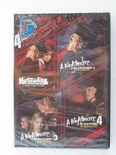 4 Film Favorites - A Nightmare on Elm Street 1-4 (DVD, 2008) Brand New (NTSC)