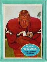 1960 Topps #125 Johnny Olszewski Redskins NrMt NM