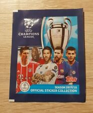 Topps 10 Tüten Champions League 2017 2018 Bustine Packet CL 17 18 Panini Mbappe