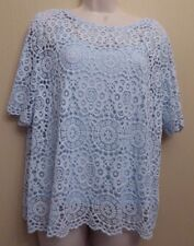 Marks & Spencer Collection UK14 EU42 US10 new 2-part pale blue top and camisole