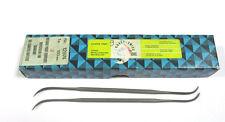 9 Grobet Swiss Vallorbe di Precisione Riffelfeilen L=150 SH-2 N.12974 Nuovo