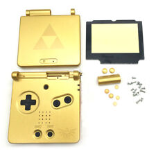 Gold Limited Housing Shell Case Cover+Screen Len for Gameboy Advance SP GBA wbfr