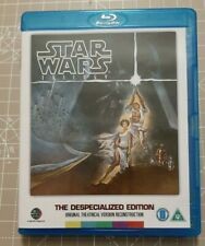 STAR WARS ORIGINAL THEATRICAL TRILOGY BLU-RAY DESPECIALIZED