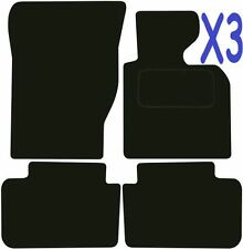 Qualità Su Misura Deluxe Tappetini auto BMW x3 2004-2011 ** NERO **