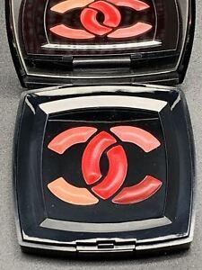 NIB Chanel levres signees Lips palette Satin Lip Cream Lipstick Brush 6 Colors