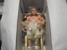 """TREASURE FOREVER COLLECTION PORCELAIN DOLL 15"""" JELENA IN BOX WITH COA #171/1500"""