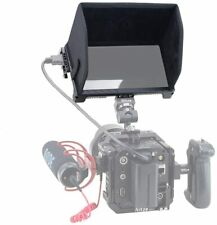 """Nitze 6"""" Monitor Cage wit Sunhood NATO Rails HDMI Clamp for Feelworld LUT6S LUT6"""