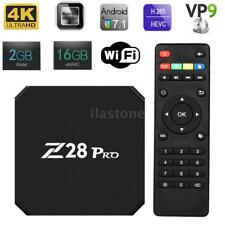 Z28 PRO Android 7.1 RK3328 Smart TV Box 2G/16G Quad Core 4K WiFi HD HDR 3D H.265