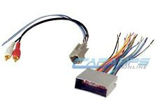 NEW CAR STEREO CD PLAYER WIRING HARNESS WIRE ADAPTER PLUG FOR AFTERMARKET RADIO