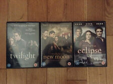 Twilight, Eclipse & New Moon - 3x Twilight DVDs