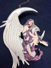 FANTASY COUTURE Nene Thomas MOON DREAMER Ornament Fairy Figurine & Stand RETIRED
