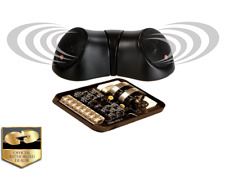 NIB CDT AUDIO COM-CS-020CX CENTER STAGE OR REAR FILL SPEAKER SET FREE GIFT LOOK