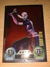Force Attax Star Wars Serie 1  Nr.164 Asajj Ventress Star Sith Sammelkarten