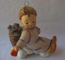 M I Hummel Goebel Porcelain LOVE FROM ABOVE Ornament with stand Germany 1989 02