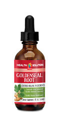 Goldenseal Plant - Goldenseal Root Drops 30ml - Help Yeast Problems 1B