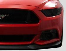 2015-2017 Mustang tinted smoked pre cut vinyl overlays headlight full FRONT kit