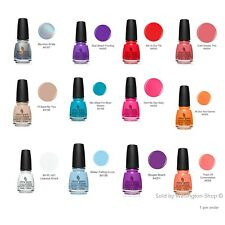 China Glaze Nail Lacquer. Nail Polish Shades of Paradise Collection 14 ml 0.5 oz