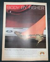 Life Magazine Ad 1963 BODY BY FISHER 1962 AD