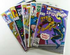 Marvel SPECTACULAR SPIDER-MAN (1992) #191-195 VF to VF/NM LOT Ships FREE!