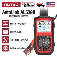 Autel OBD2 Scanner Diagnostic Tool Code Reader Car 12V Battery Tester AL539B US