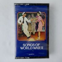 Time Life Music Songs of World War II Cassette Various Artists New Sealed