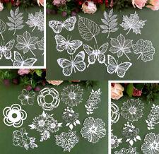 Laser Die Cut Lace Paper Scrapbook Embellishment Decorative Paper#3