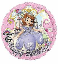 Disney Sofia The First Happy Birthday Standard Foil Balloon - S60 5 PC