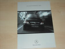 48634) Mercedes A-Klasse W168 Spirit Prospekt 199?