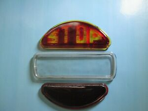 1931 Chrysler cd 8 tail light glass lens