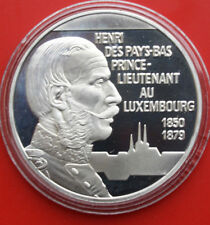 "Luxemburg-Luxembourgh: 20 Euro 1996 Silber, ""Henri au Luxembourgh"", F# 1797"