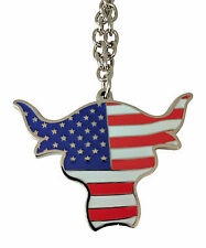 The Rock Team Bring It USA Pendant Necklace WWE