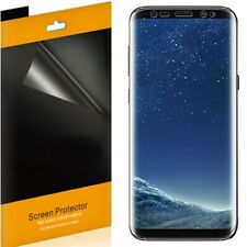 2x For Samsung Galaxy S8 / S8 Plus Full Coverage TPU Clear Screen Protector Film