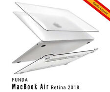 "Funda Nuevo Macbook Air 13"" Retina A1932, transparente Mate ENTREGA RAPIDA"