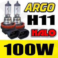 2 X HIGH POWER 100W H11 CAR LIGHT DRIVING FOG LAMP BULBS CLEAR HALOGEN