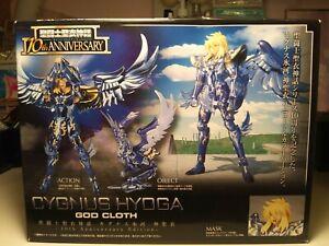 NEW CYGNUS HYOGA GOD CLOTH - Saint Seiya Saint Myth 10th Anniversary Figure