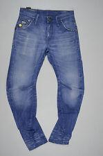 EUC RRP $289 Mens Stunning G-Star Raw 'ARC 3D SLIM' Light Aged Jeans W29 L32