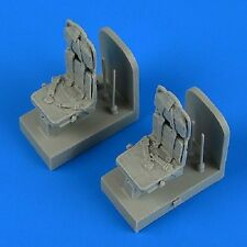 Quickboost 48715  1/48 SH3H Sea King Seats w/Safety Belts for Hasegawa & Revell