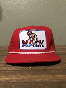 Vintage Style Mack Truck Trucker Rope Golf Hat New